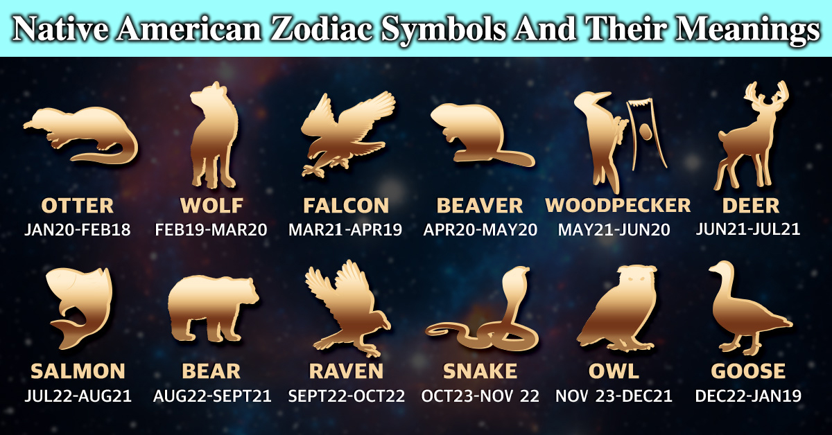 Find Your Native American Zodiac Symbol And Its Meaning!