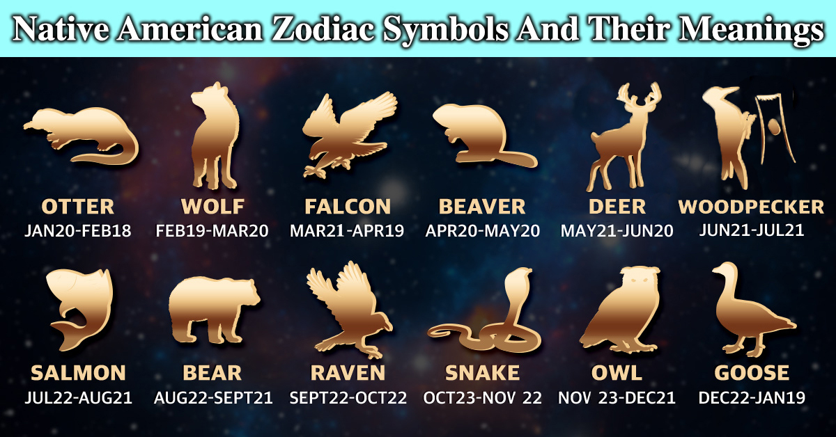 Find Your Native American Zodiac Symbol And Its Meaning
