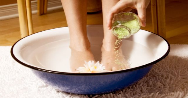 How To Make A Detox Foot Soak At Home To Help Flush Out Toxins