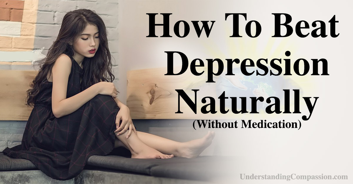 how to beat depression naturally (without medication)